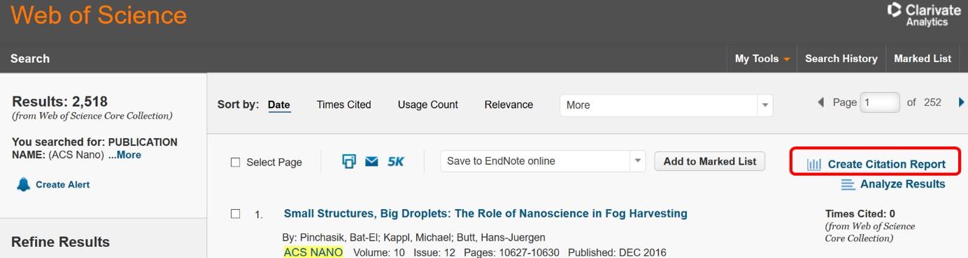 学术干货 | 如何利用Web of Science估算期刊影响因子(附2017年各主要材料、化学、能源类期刊估算影响因子列表)