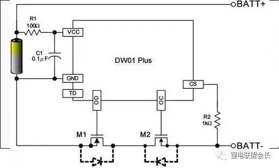 锂电池过充电、过放电、短路保护电路详解