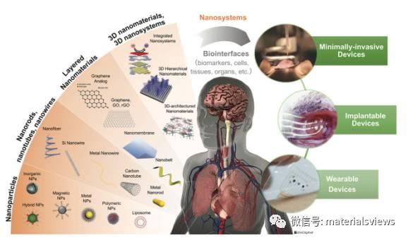 基于模块化纳米-生物界面的功能性生物集成器件
