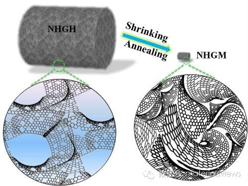 氮掺杂多孔石墨烯构建高体积容量锂电负极材料