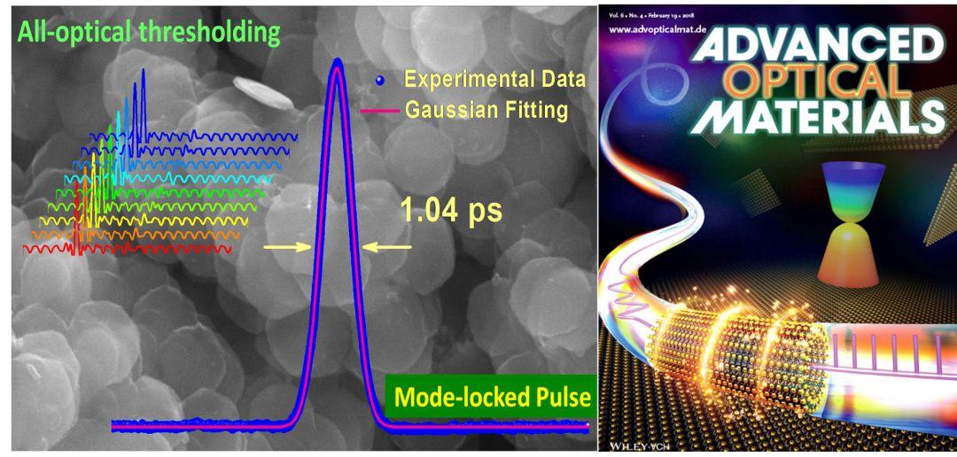 Advanced Optical Materials:二硫化钛纳米片的非线性光学研究及超快光子学的应用