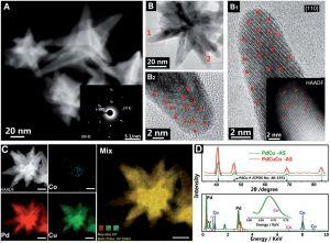 Advanced Materials:原子缺位控制的钯基催化剂增强电催化性能