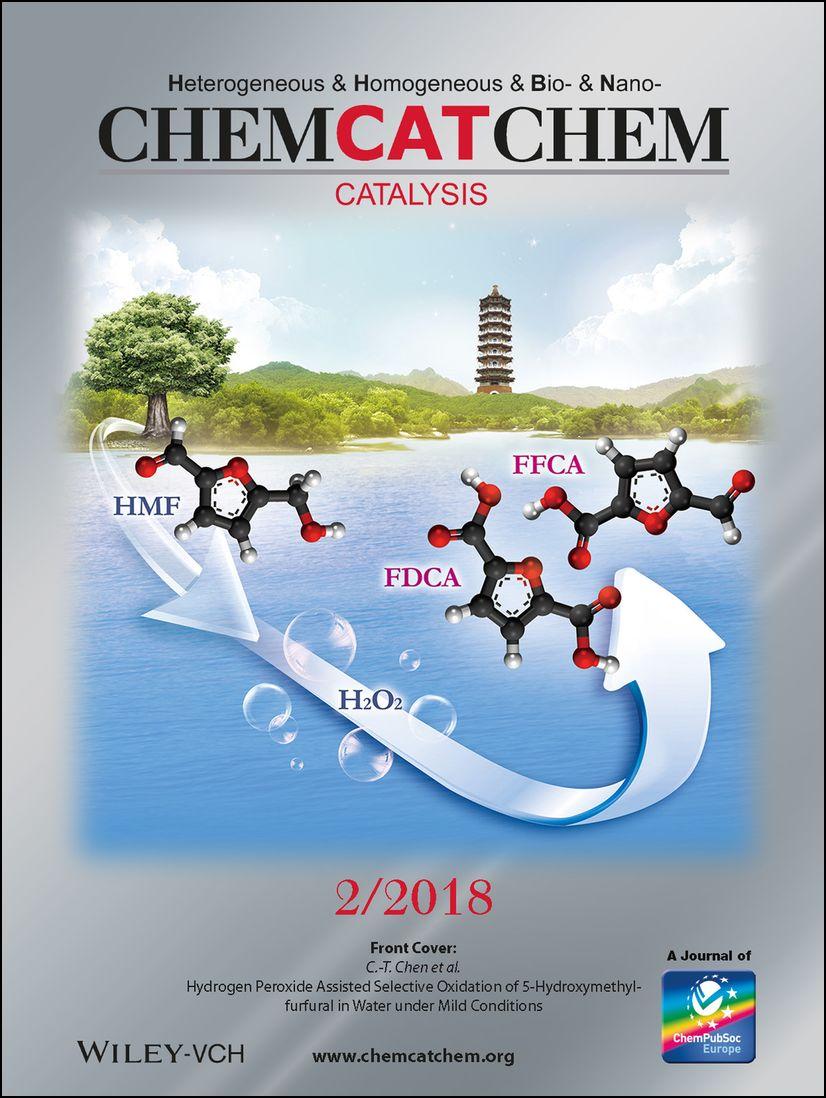 ChemCatChem 2018年1月封面文章