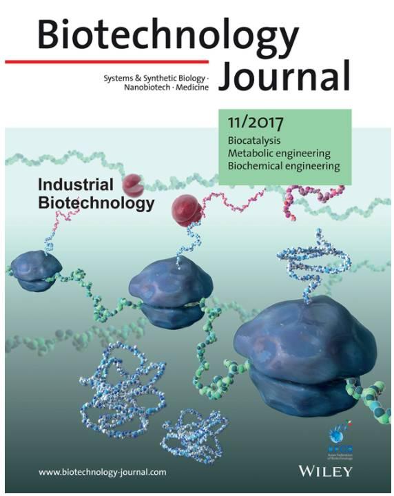 BTJ (Biotechnology Journal) 2017年封面合集评选