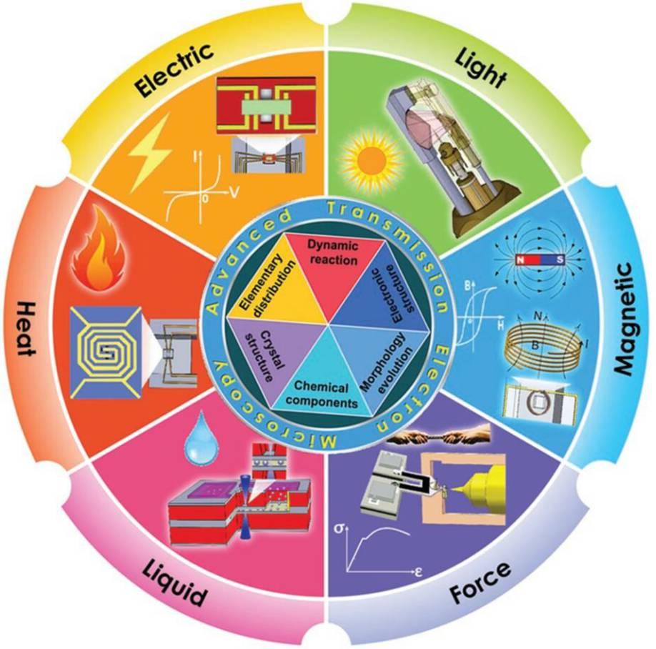 Small:基于原位电子显微技术的二维材料表征和操控研究进展