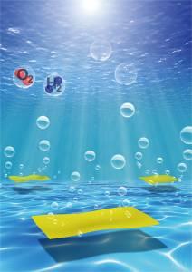 Advanced Materials: 超薄二维共轭高分子实现高效光催化纯水分解反应