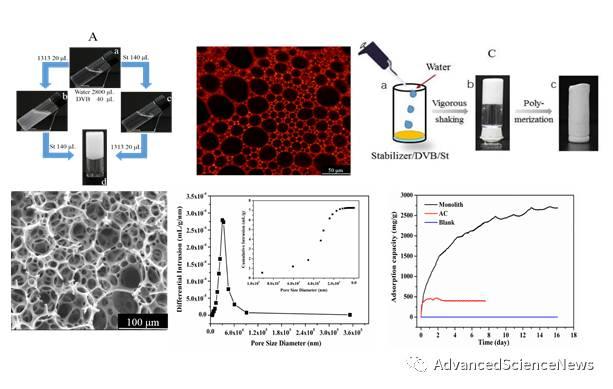 Macromol. Rapid Commun.:芳纶纤维稳定化凝胶乳液:多孔聚合物块材的模板制备 及其在甲醛高效去除中的应用