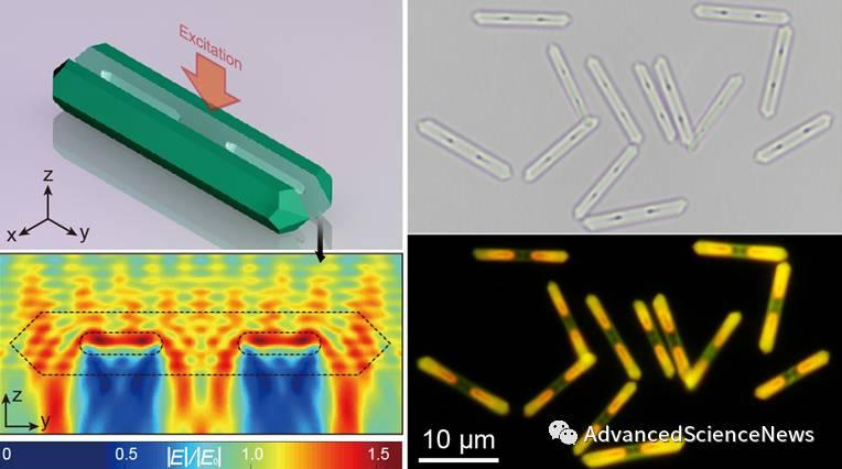 Angewandte Chemie:一维中空结构微米棒的制备及其对上转换发光的增强效应