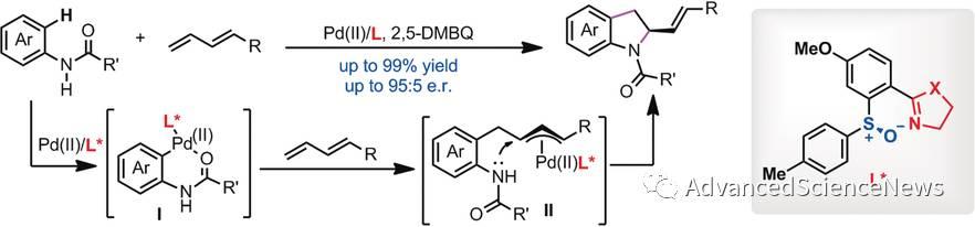 钯催化的不对称碳-氢活化串联反应