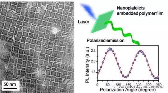 偏振发光钙钛矿纳米片的自组装策略制备