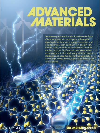 【透视聚焦】二维金属氧化物助力二次电池发展