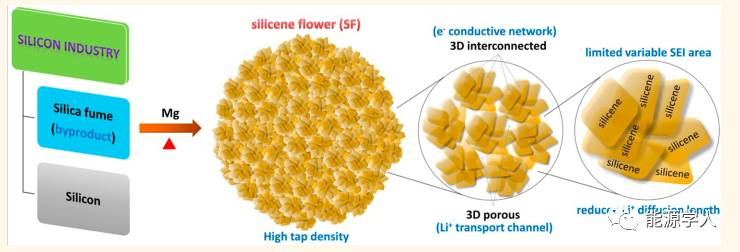 双稳定花状硅烯:华而实用