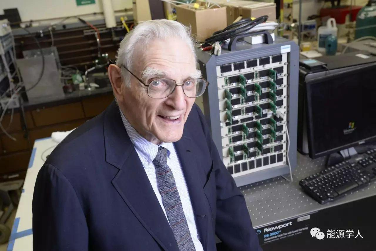 Goodenough 第一个可在60℃以下工作的全固态锂离子电池