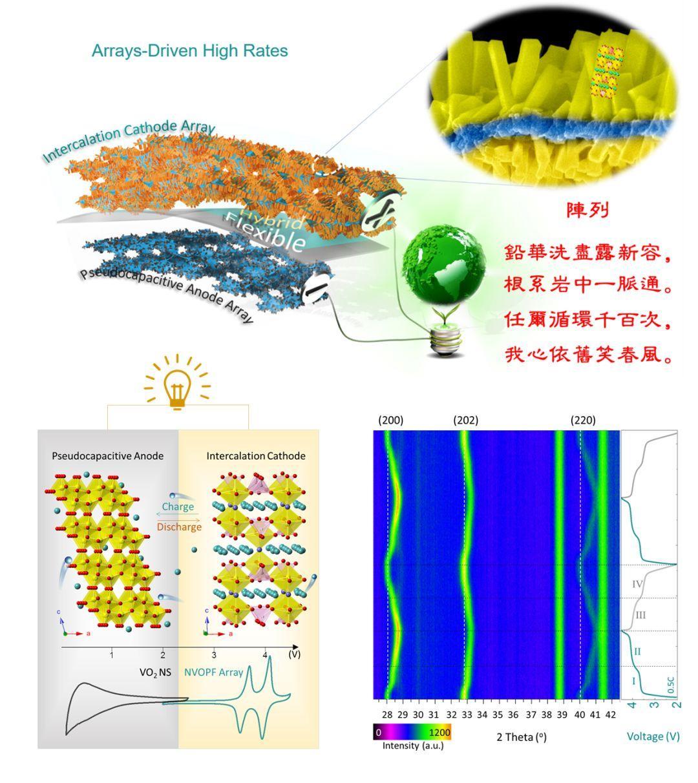 Advanced Energy Materials:根系岩中一脉通——单晶正极阵列构筑全阵列电池