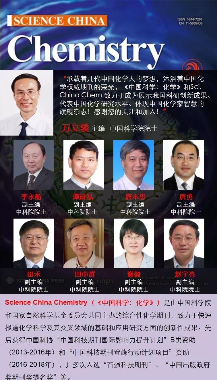 火遍学术圈,Sci. China Chem.最受欢迎的10大文章!