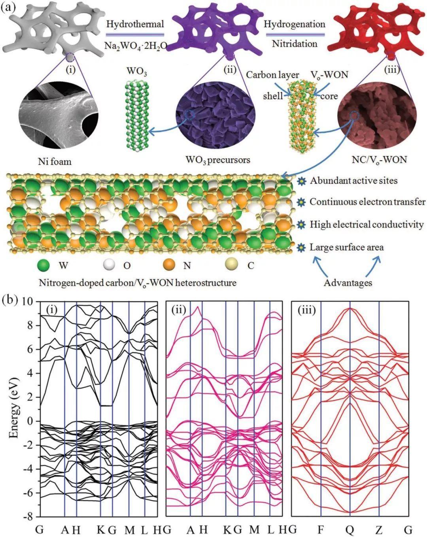 AEM:富含缺陷异质结构,助力电化学析氢