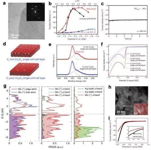 中南大学雷永鹏EES:CO2、N2还原反应中电催化剂的缺陷工程