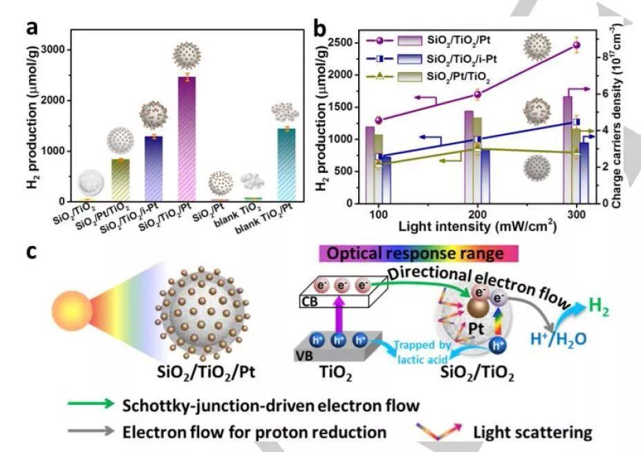 Angew:紫外-可见-近红外光,通通收入囊中!看看金属-半导体异质结如何积聚电子,提高析氢效率