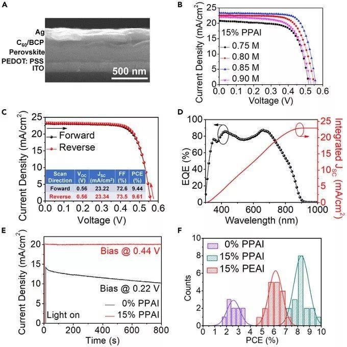 Joule:共轭有机阳离子实现FASnI3太阳能电池的高效自愈