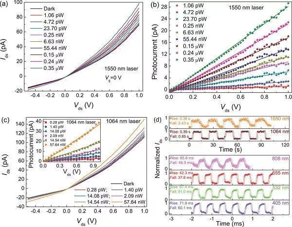 AFM:面向超高探测率的短波红外光电探测器