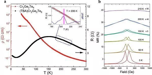 JACS:有机离子插层,相转变的同时提高居里温度