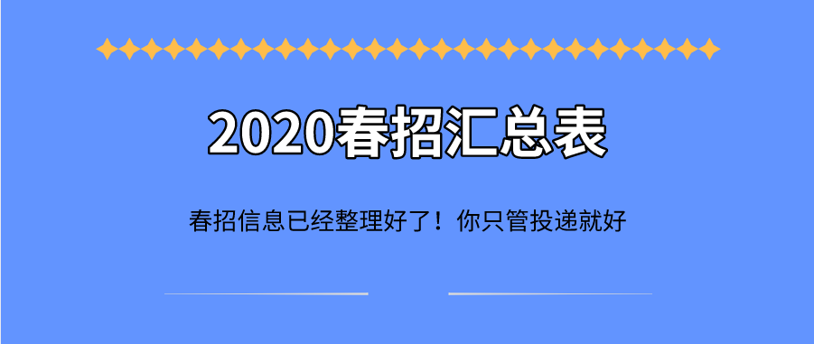 吉利2020春招来袭!