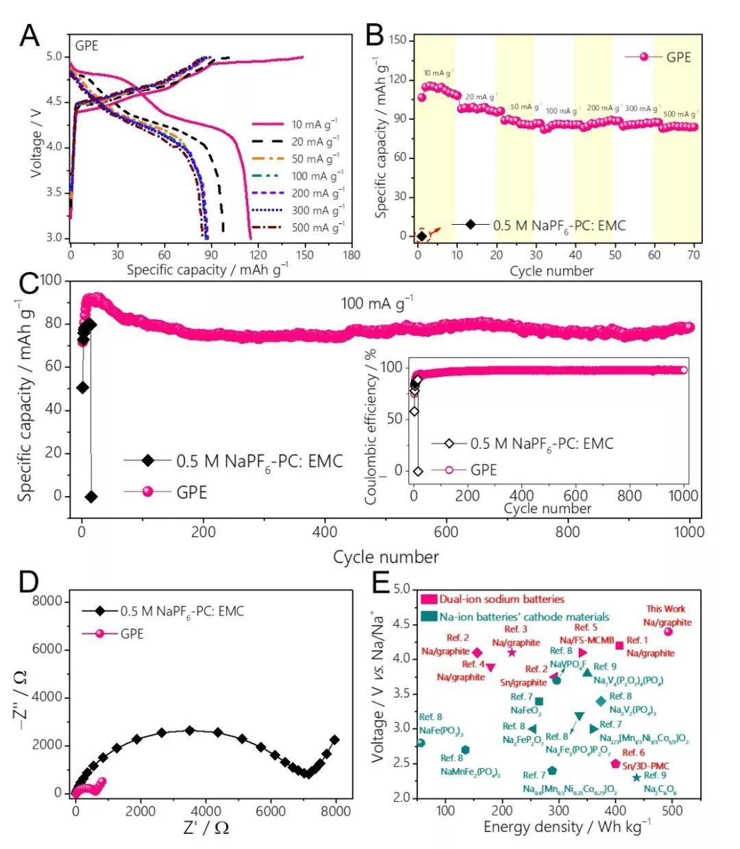 悉尼科技大学汪国秀、清华大学李宝华团队Chem:  适用于低成本储能的准固态双离子钠金属电池