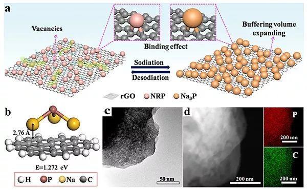 复旦大学余学斌ACS NANO: 纳米红磷负极助力高比容量钠离子电池