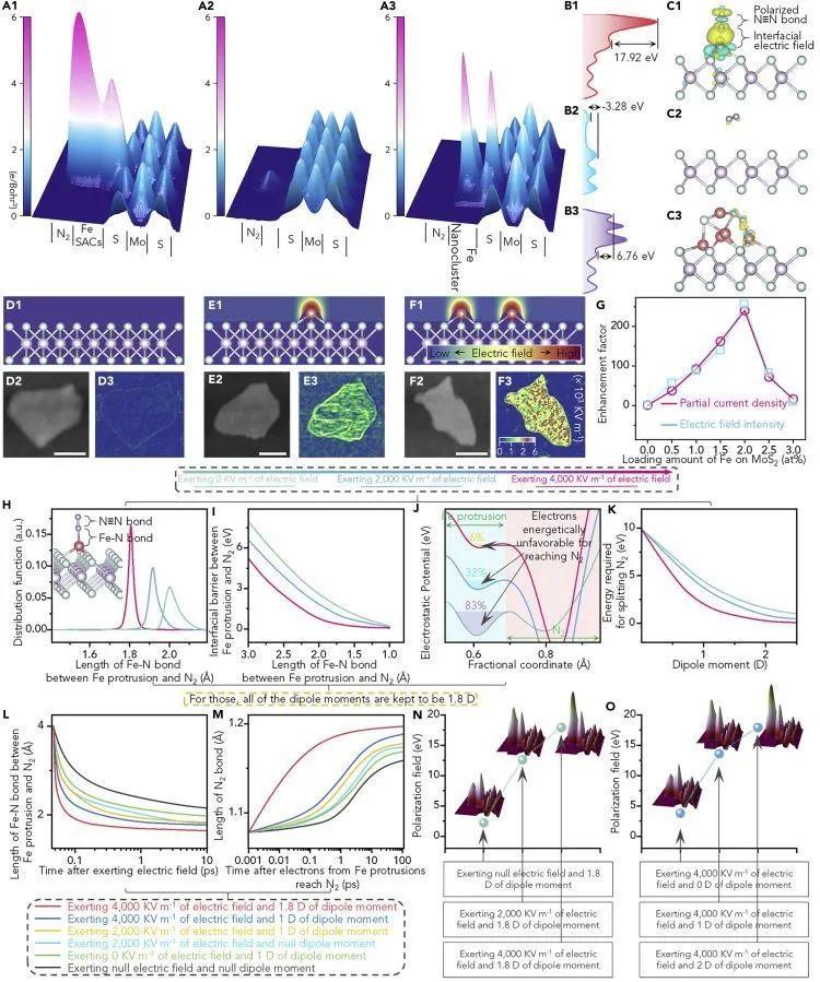 张礼知Chem:单原子诱发界面极化,助力高活性NRR电催化剂
