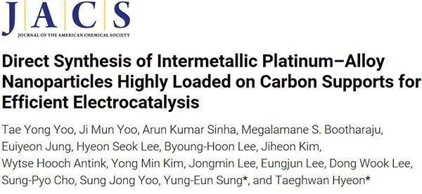 JACS:碳负载双金属纳米粒子催化剂,20000次电催化循环性能依然优良!