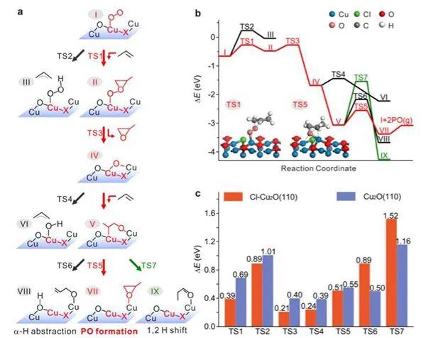 厦门大学谢兆雄&傅钢教授JACS:晶格Cl掺杂Cu2O提高丙烯环氧化催化效率