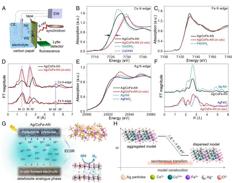 北航郭林&刘利民PNAS:原位电化学自重构--构筑铜铁矿型高效析氧电催化剂