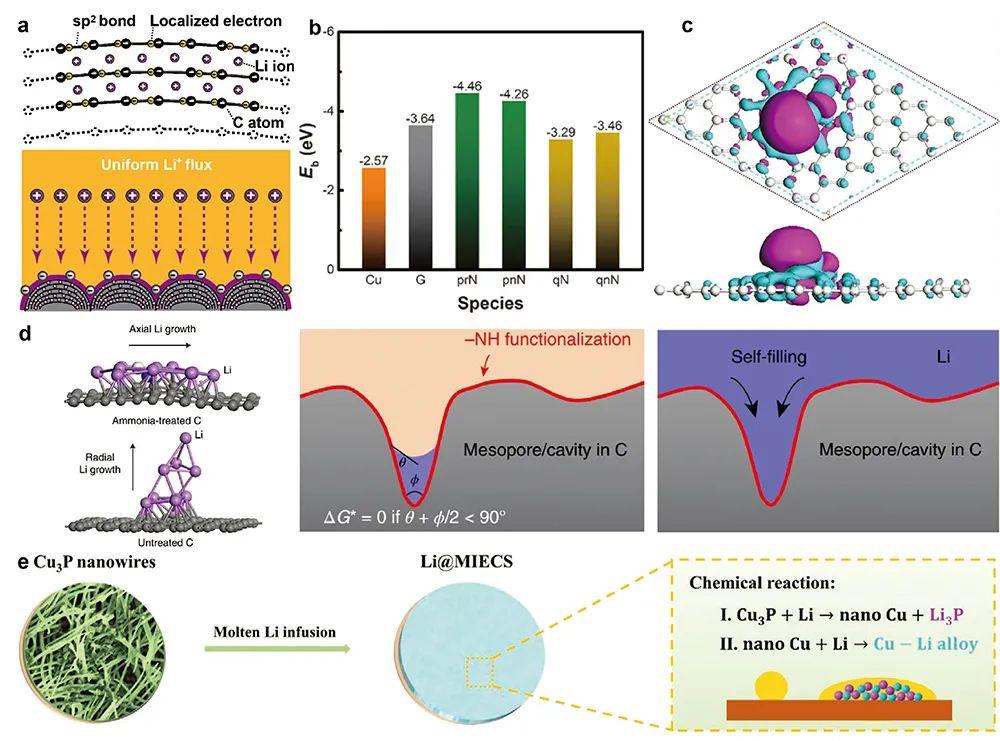 叶欢&郭再萍Adv. Sci.综述:基于润湿性调控制备锂金属复合负极的研究进展