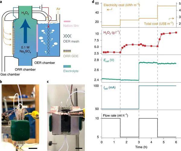 斯坦福崔屹Nat. Sustain.:Cu单原子催化剂处理有机废水并活化和产生H2O2