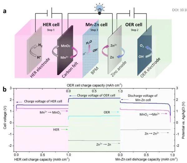复旦大学董晓丽&王永刚EES:两性水电解质的解耦及其在Mn-Zn电池中的应用