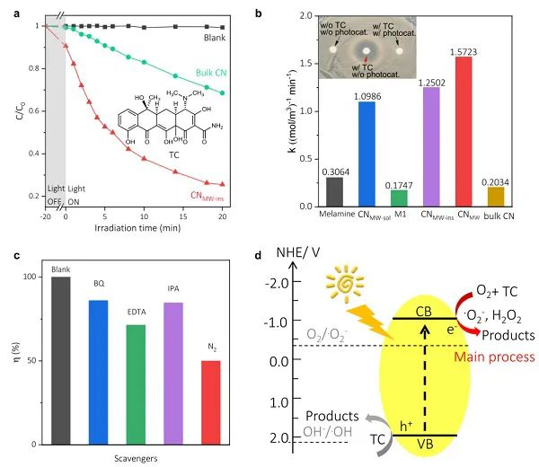 Nature子刊:揭示氮化碳在光催化氧化反应中的基本活性单元