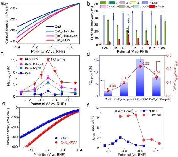 郑耿锋/李亚飞Nature子刊:双硫空位作催化中心电催化CO2RR产C3化合物!
