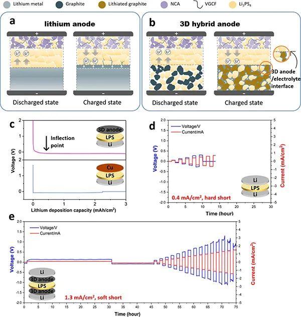 刘平教授团队ACS Energy Letters:基于石墨的无锂3D混合负极用于全固态电池