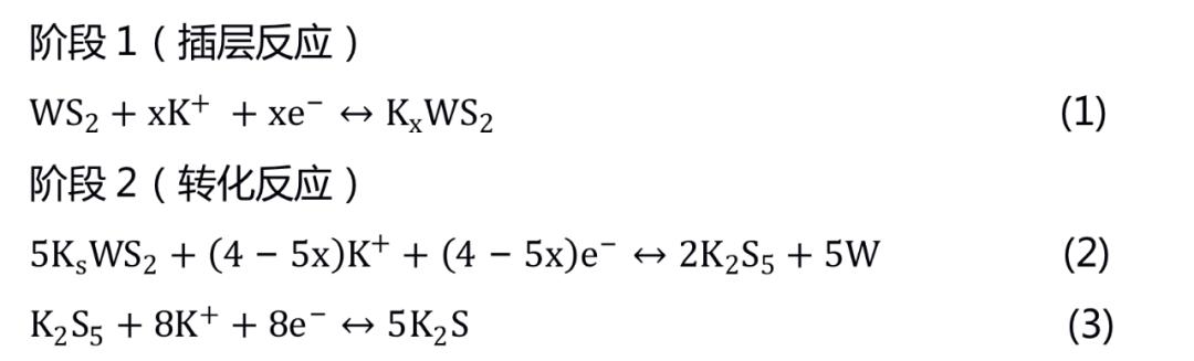 中科院金属所李峰等EES:碳纳米纤维负载碳包覆二硫化钨纳米片助力高倍率钾离子混合超级电容器