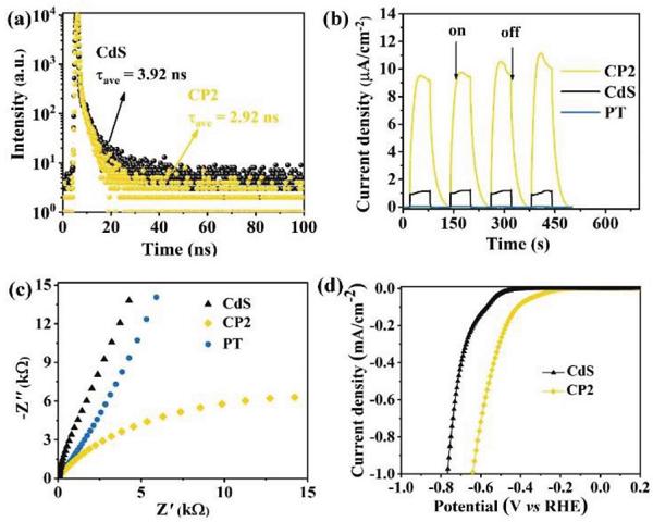 余家国Adv. Mater.:无机/有机S型异质结用作析氢光催化剂