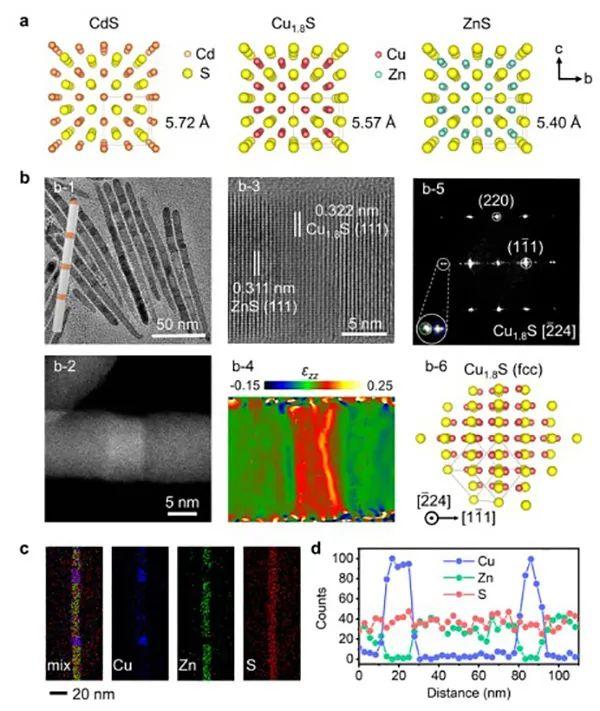 中科大俞书宏院士JACS:合成一维超晶格异质结方法学!