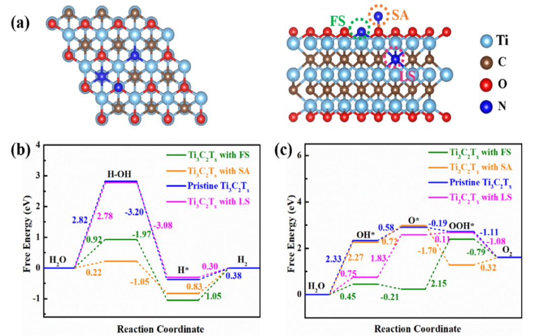 石河子大学CEJ:Plasma调控氮掺杂2D MXene作为高效析氢和析氧电催化剂