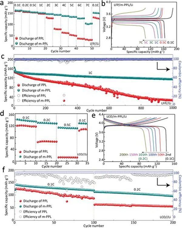 AM:10 μm厚的高强度固态聚合物电解质