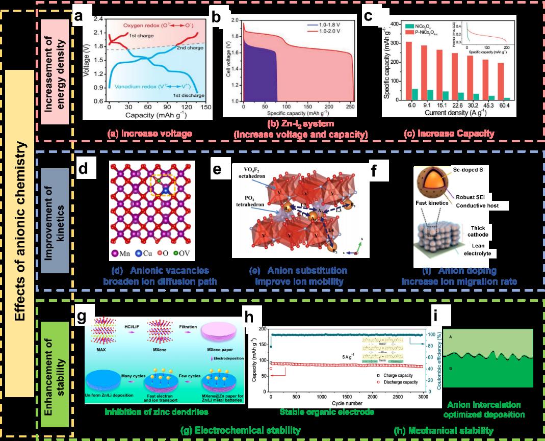 EEM综述:锌离子电池中的阴离子化学基础及效应