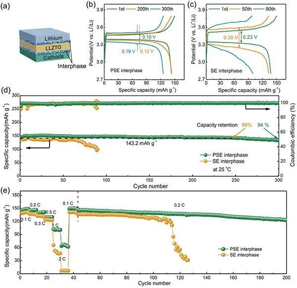 上硅所张涛Angew:界面强配位作用实现高性能固态电池