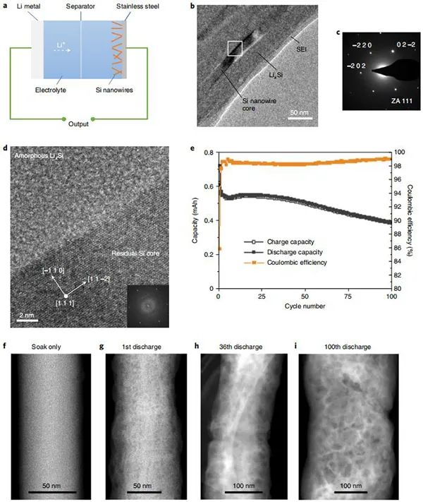 Nature Nanotech.:冷冻电镜助力硅负极SEI结构演变