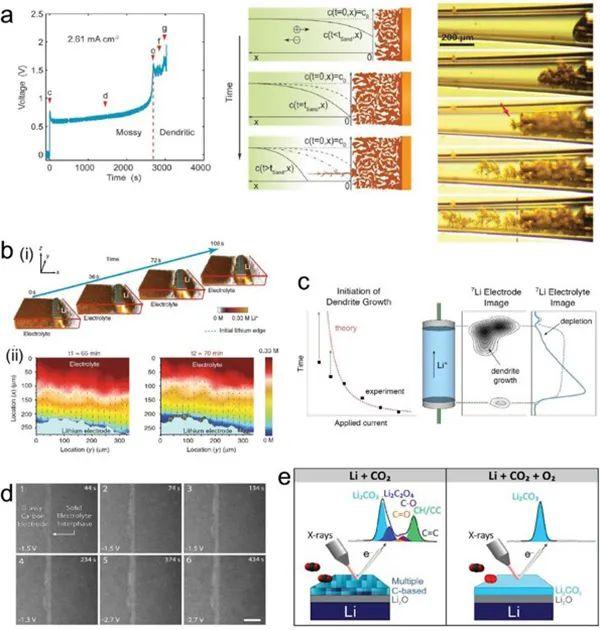 AEM:原位分析技术揭示锂金属沉积/剥离机制